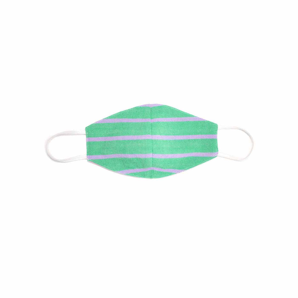 Sticks Green Mask Set (filter pocket option kids)