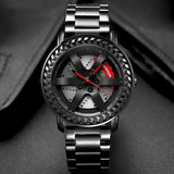 Stainless Steel Rim Watch M3