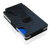 [3 TYPES] Carbon Fiber Card holder & Money Clip with RFID Anti-scan Technology