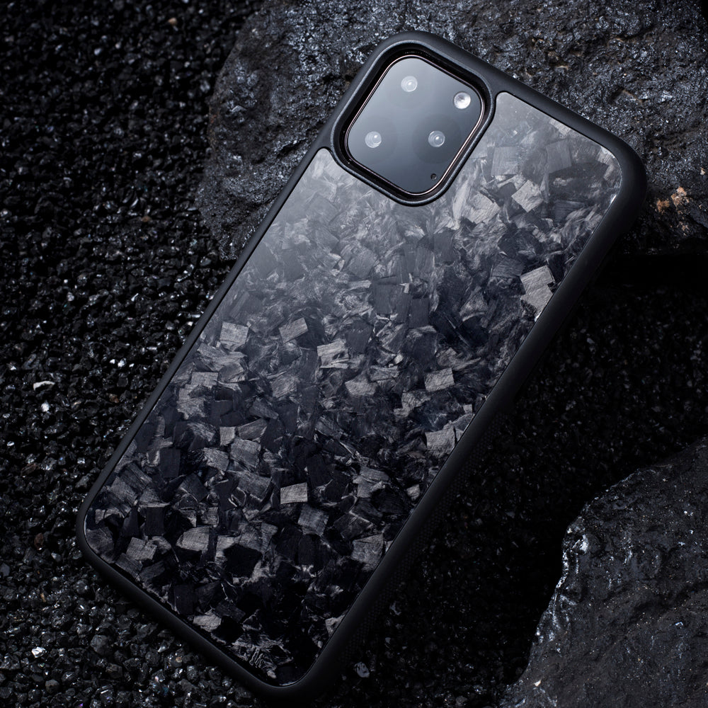 (iPhone) Real Forged Carbon Fiber Case