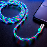 Flowing Magnetic Charging Cable