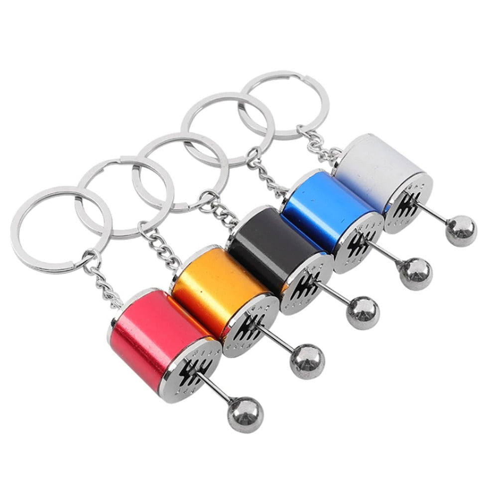 6-Speed Manual Gearbox Keychain