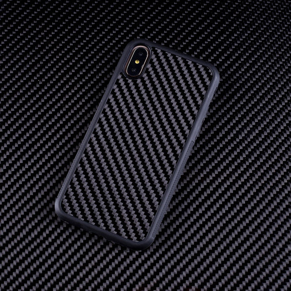(iPhone) Real Carbon Fiber Case