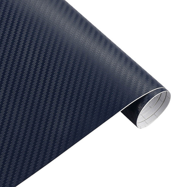 [12 COLORS] 30cm*127cm 3D Carbon Fiber Vinyl wrap