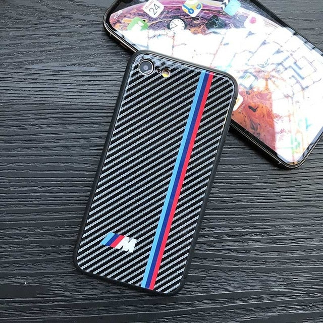 quality design a82b7 00dc6 [IPHONE] 5 EDITIONS Shockproof Carbon Fiber RS / M / AMG / GTR Phone Case