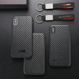 [IPHONE] 2 EDITIONS Shockproof Carbon Fiber M / AMG Phone Case