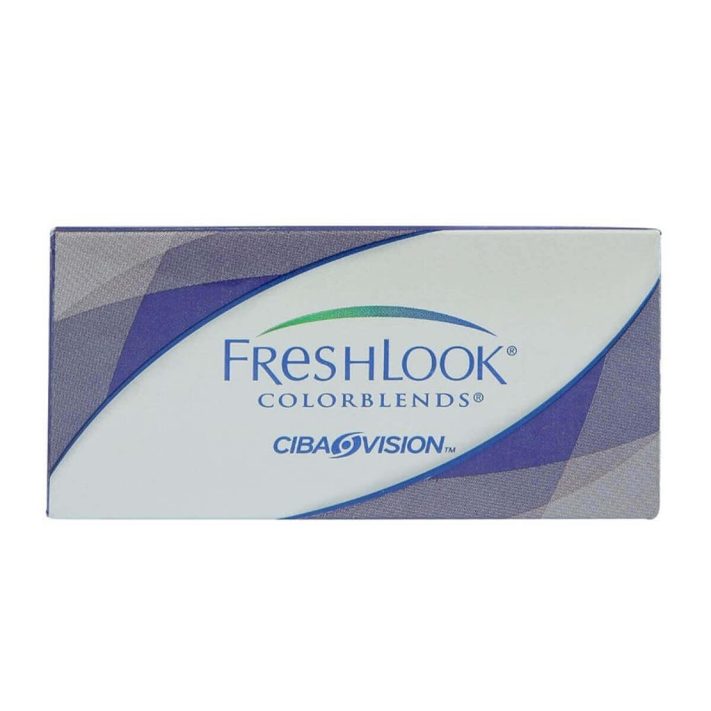 LENTES DE CONTACTO FRESHLOOK COLORBLENDS UV BROWN G:0.00