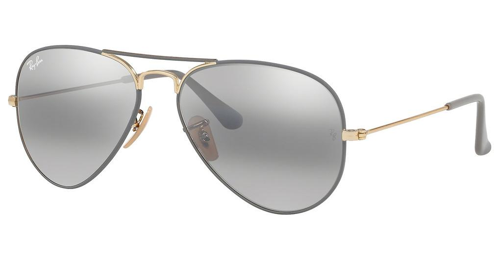 RAY BAN RB 3025 AVIATOR LARGE METAL 9154/AH 58-14 135 2N