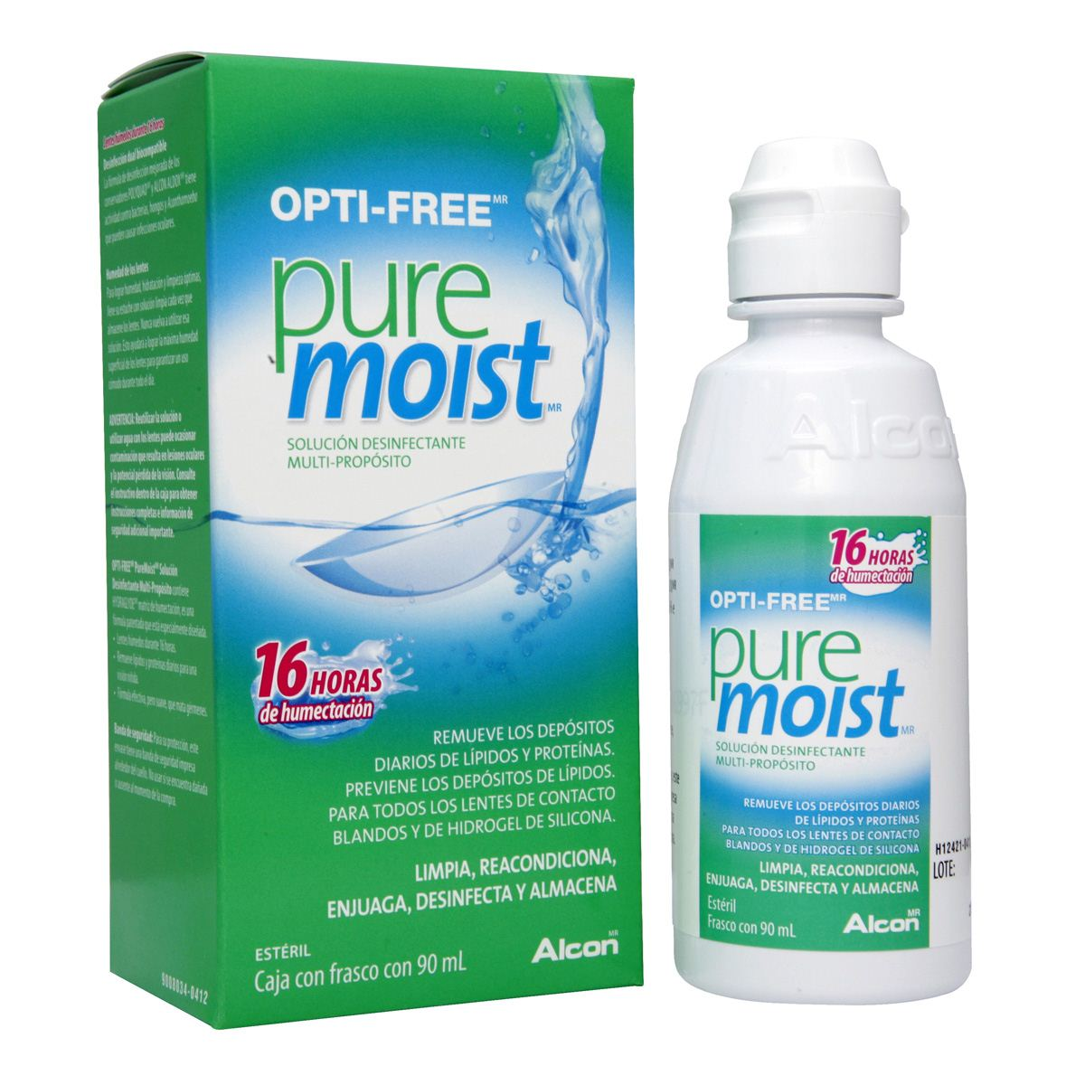 OPTIFREE PURE MOIST 90ML