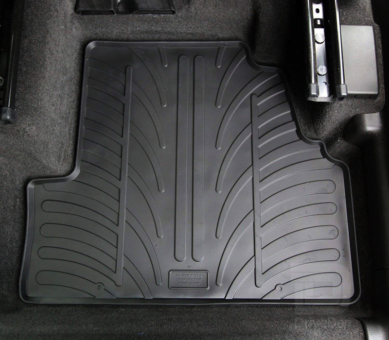 Rubber Car Mat Set to suit Volvo XC90 SUV 2015-Current