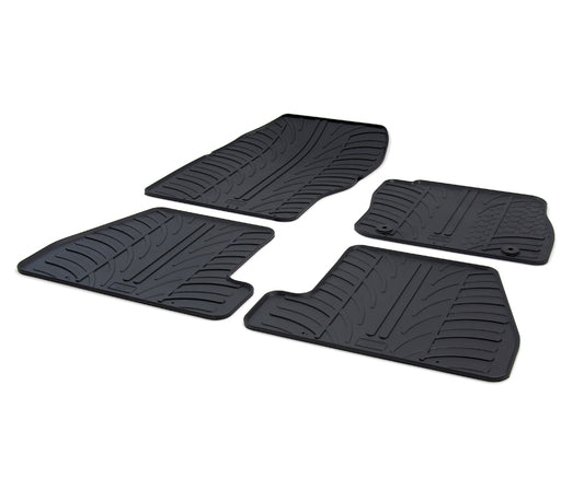 Rubber Car Mat Set to suit Ford Focus Hatch 2011-Current
