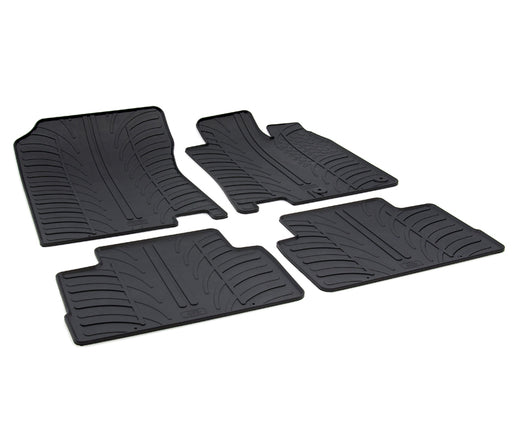 Rubber Car Mat Set to suit Nissan Qashqai SUV 2014-Current