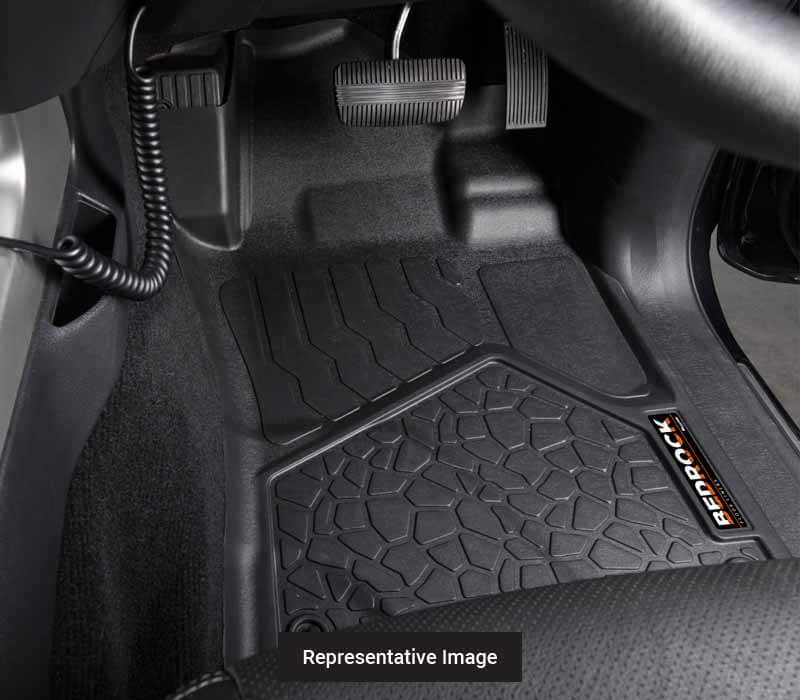 BedRock Floor Liners - Front Set to suit Mazda BT 50 Ute 2011-2020