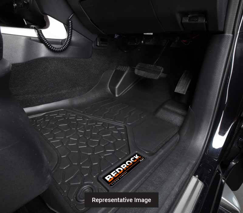 BedRock Floor Liners - Front Set to suit Ford Ranger Ute PX3 (2018-Current)