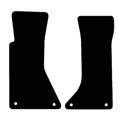 Car Mat Set suits Chevrolet Corvette Convertible C4 (1984-1996)