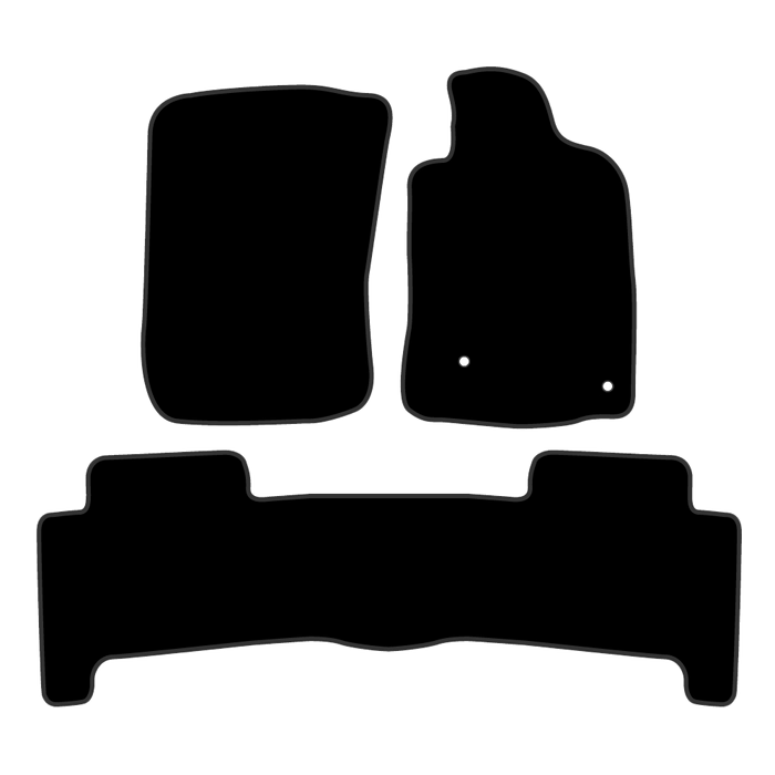 Car Mat Set suits Toyota Prado SUV 120 Series (2003-2009)