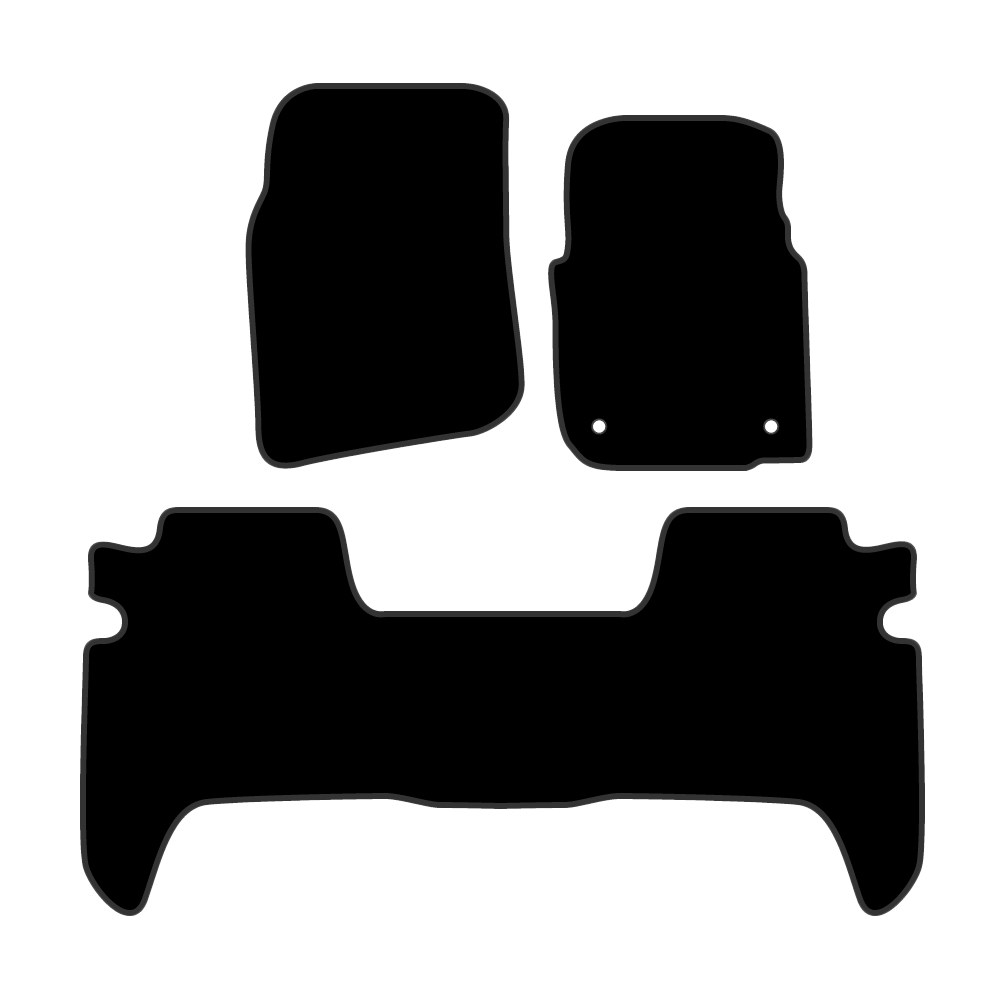Car Mat Set suits Ssangyong Musso SUV 1997-2005