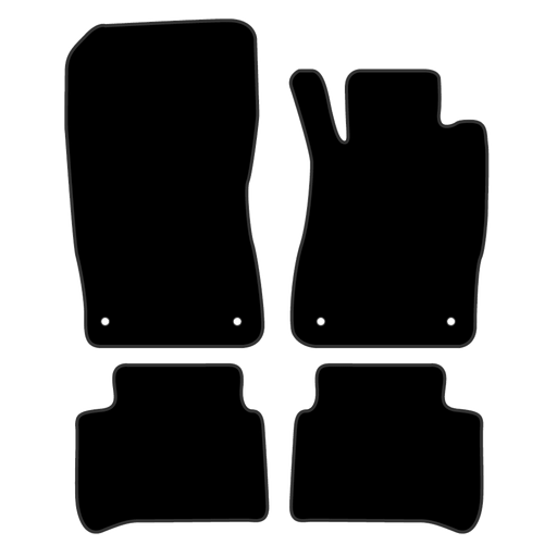 Car Mat Set suits Mercedes E Class Wagon W211 (2002-2009)
