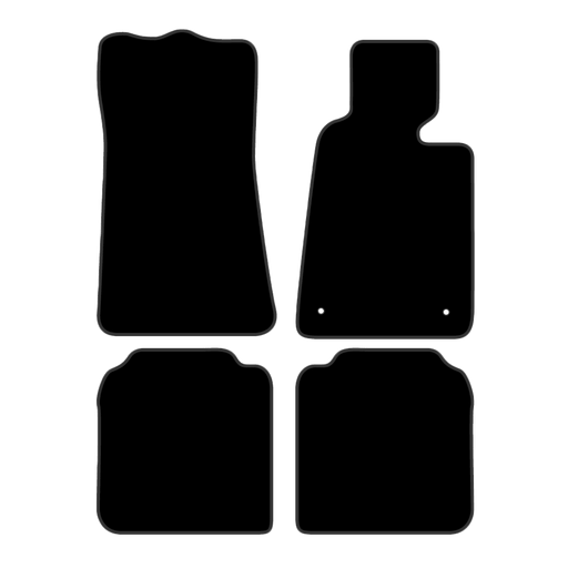 Car Mat Set suits BMW 7 Series Sedan E32 (1987-1994)