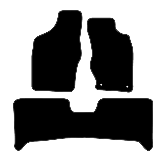 Car Mat Set suits Nissan Navara Ute D22 (1997-Current)