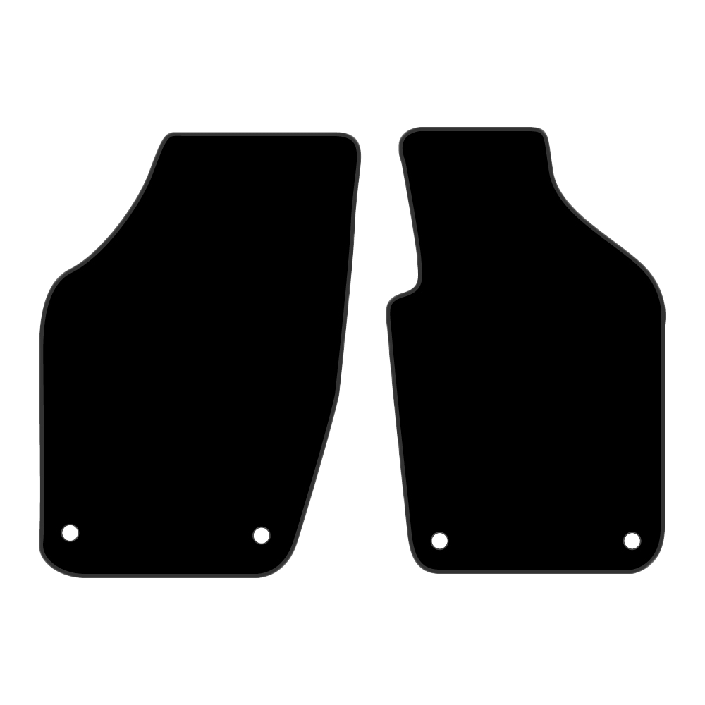 Car Mat Set suits Volkswagen VW Polo Hatch MK4 (2002-2009)