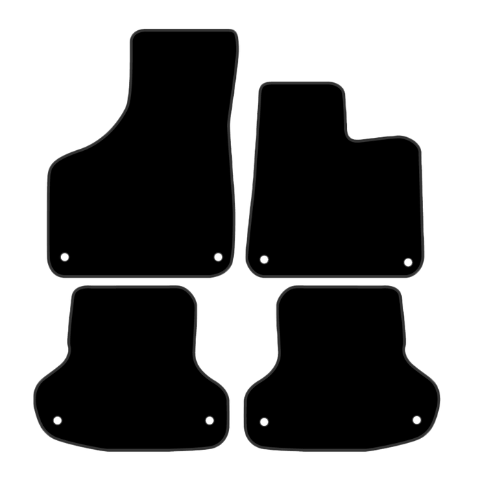 Car Mat Set suits Audi A3 Hatch 2003-2013
