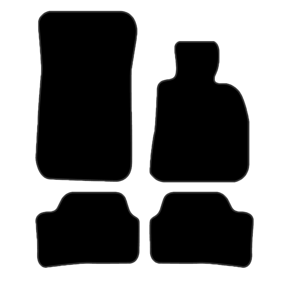 Car Mat Set suits BMW 1 Series Hatch E87 (2004-2011)