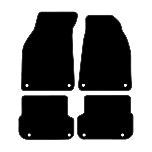 Car Mat Set suits Audi A6 Wagon C6 (2004-2011)