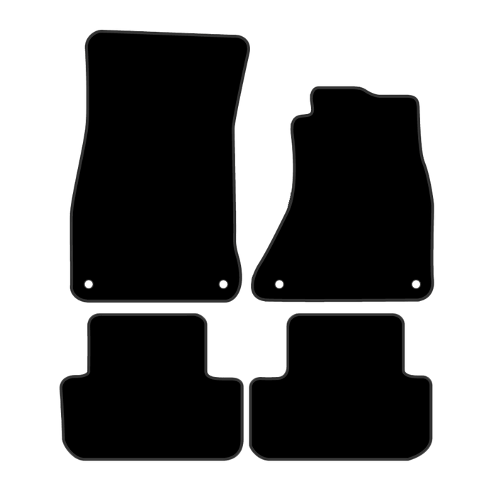 Car Mat Set suits Audi A4 Sedan B8 (2008-2016)