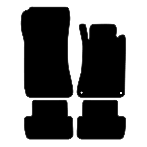 Car Mat Set suits Mercedes CLK Coupe C209 (2003-2010)