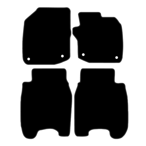 Car Mat Set suits Honda Civic Hatch 2012-2016
