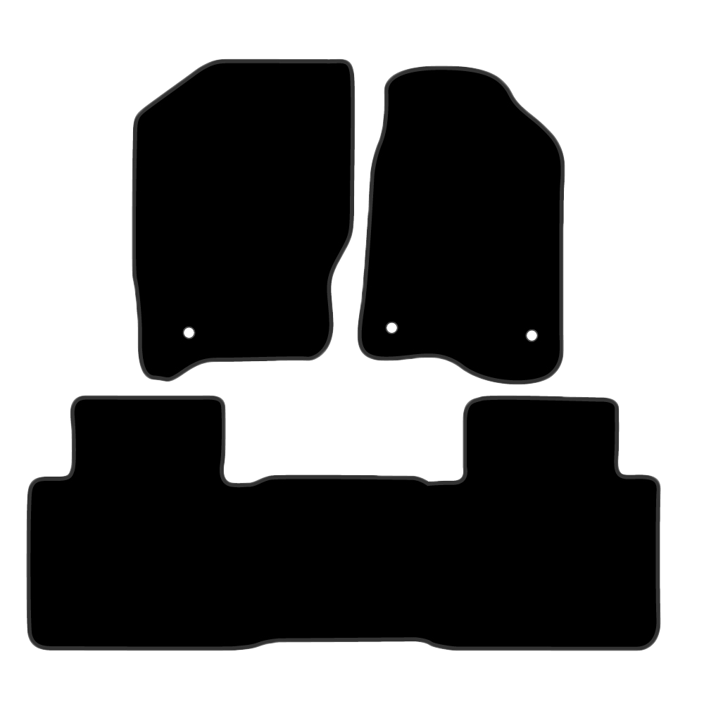 Car Mat Set suits Nissan Navara Ute D40 (2005-Current)