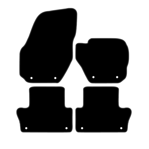 Car Mat Set suits Volvo XC60 SUV 2009-2017
