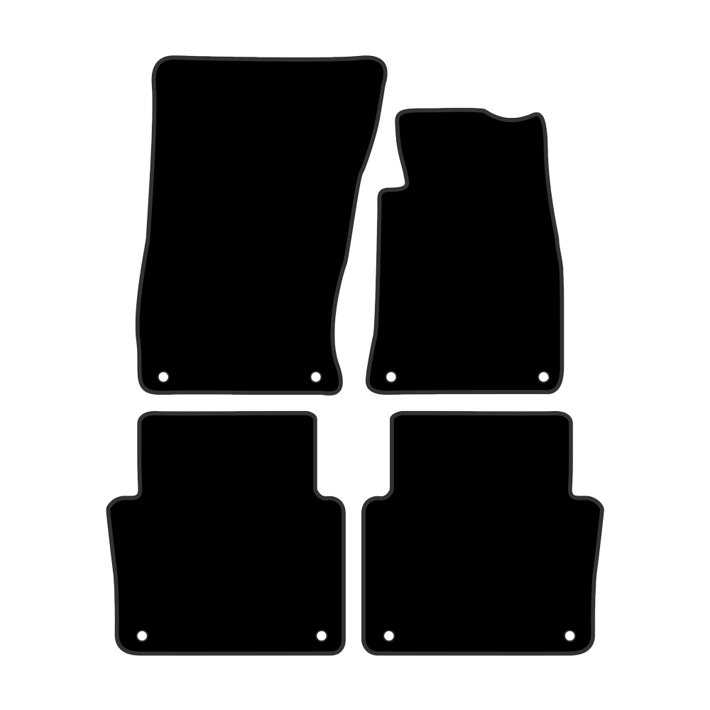 Car Mat Set suits Audi A8 Sedan D3 (2002-2009)