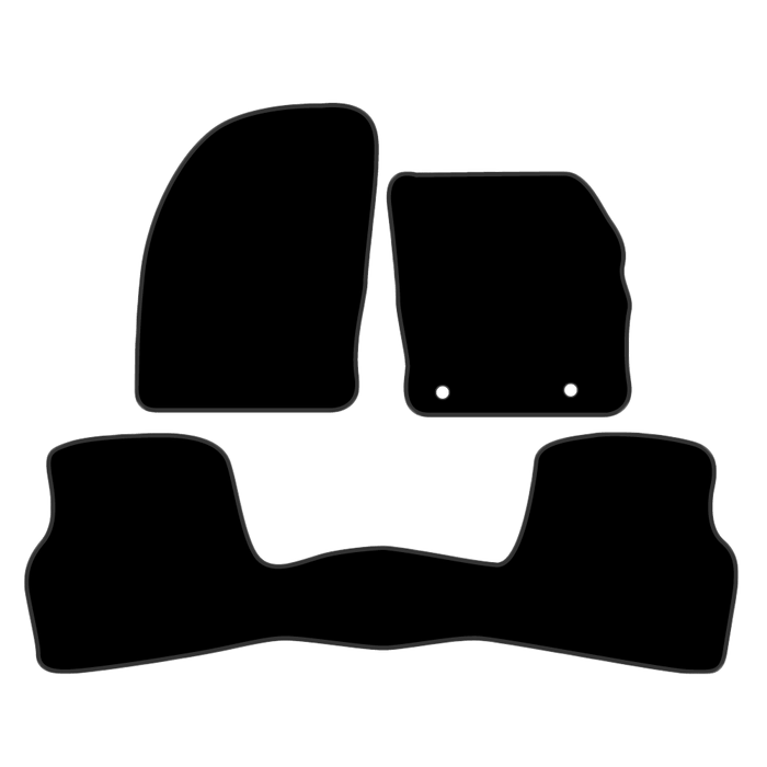 Car Mat Set suits Ford Focus Hatch 2005-2011