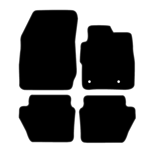 Car Mat Set suits Ford Fiesta Hatch 2012-Current