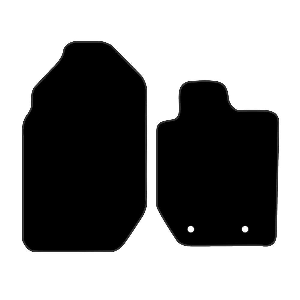 Car Mat Set suits Ford Ranger Ute PX2 (2015-2018)