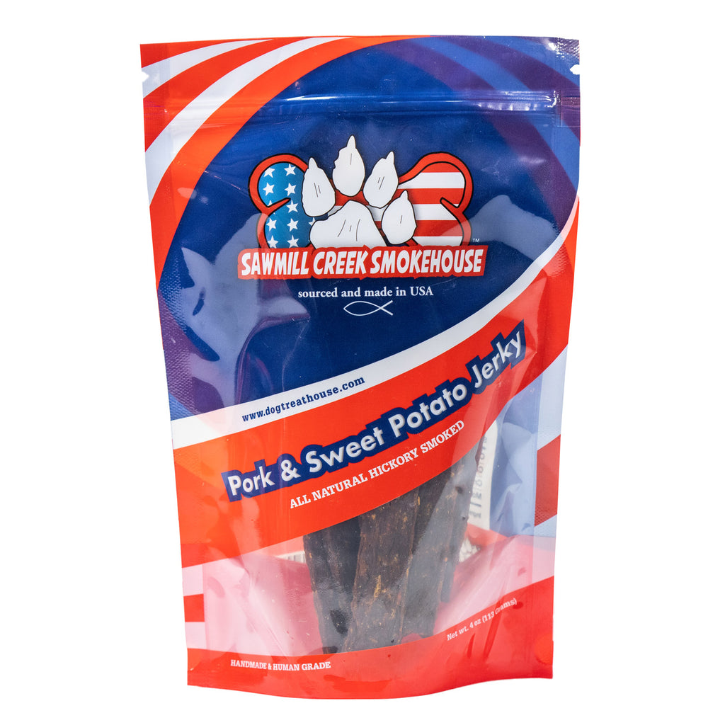 Pork & Sweet Potato Jerky (4oz)