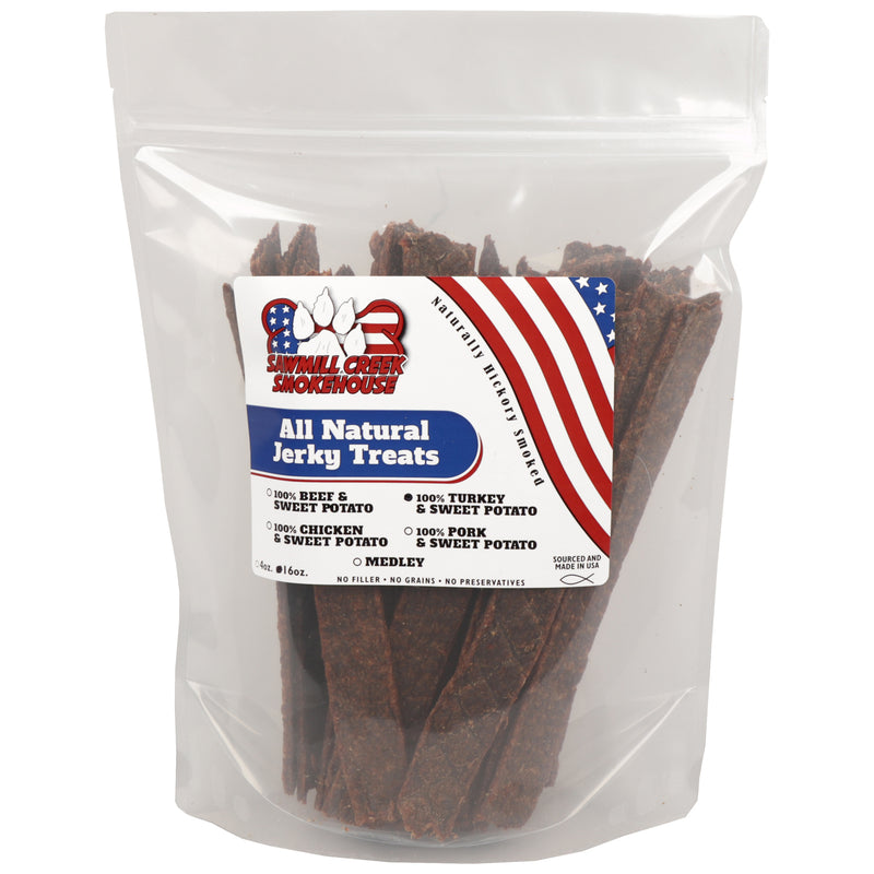 Turkey & Sweet Potato Jerky Stick (1lb)