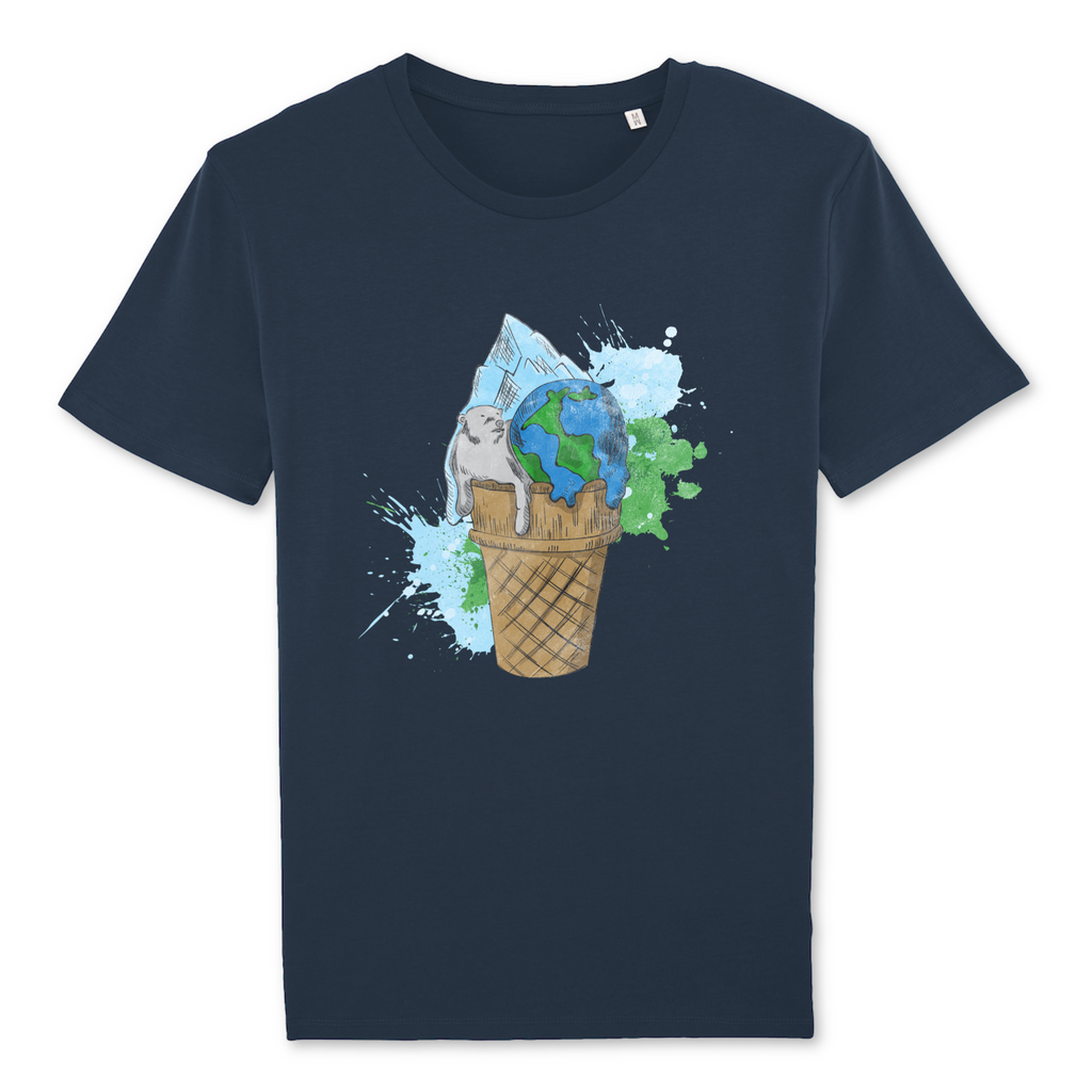 Organic Unisex T-Shirt Icecream