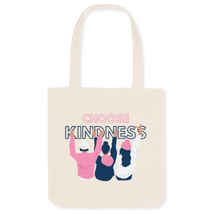 Choose Kindness Recycled Organic Cotton Tote Bag