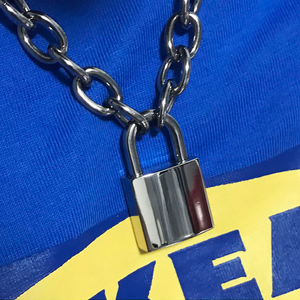 YUNIK 'Padlock' Necklace