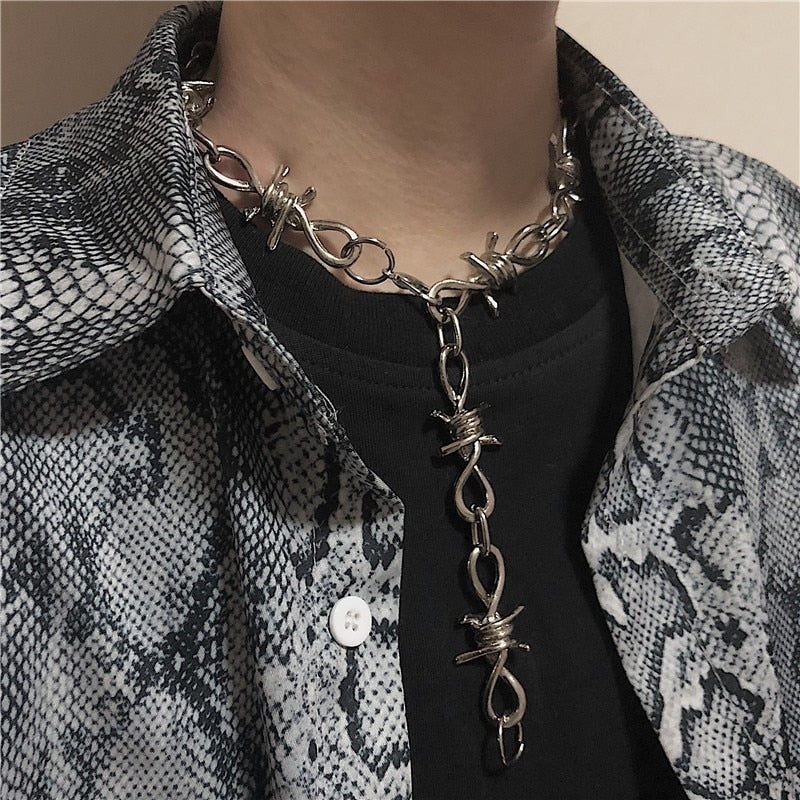 YUNIK 'Wire' Necklace & Bracelet
