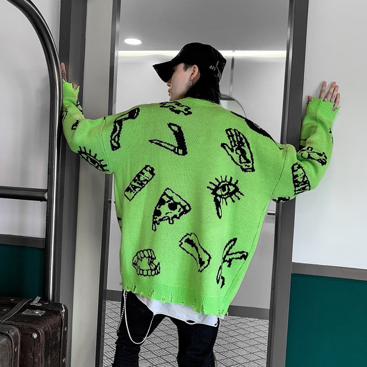 YUNIK 'Anbullet 2' Sweater