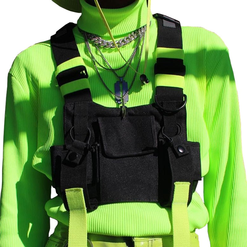 YUNIK 'Flux' Reflective Chest Bag
