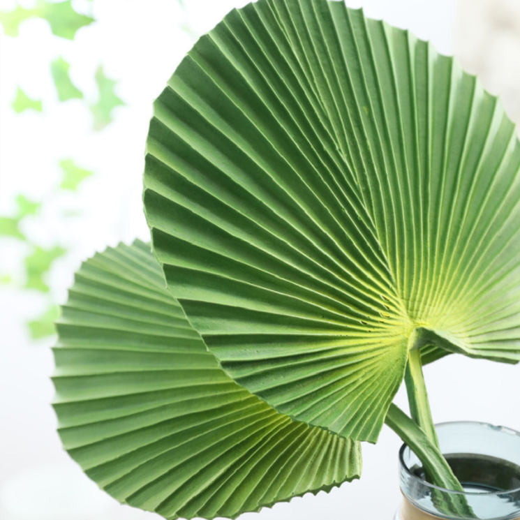 Artificial Palm leaf banana leaf, Real Touch - rosemorning