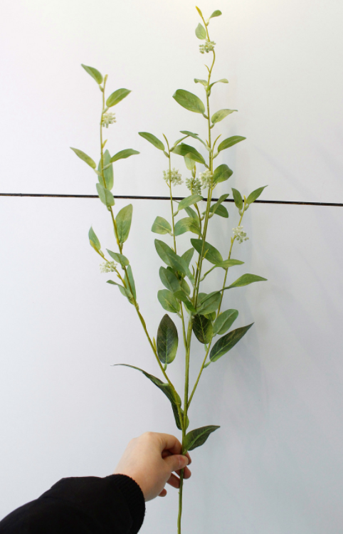 Artificial Winter Berry With Leaf - Tall 100cm - rosemorning