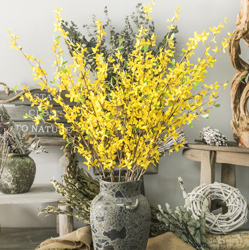 Artificial Winter Jasmine Single Branch - Tall 100cm - rosemorning