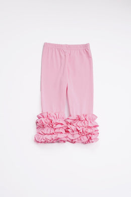 Light Pink Ruffle Pants