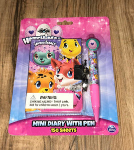 Hatchimals Mini Diary Set